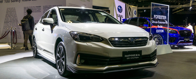 PH-Bound 2020 Subaru Impreza Makes Regional Debut In Singapore