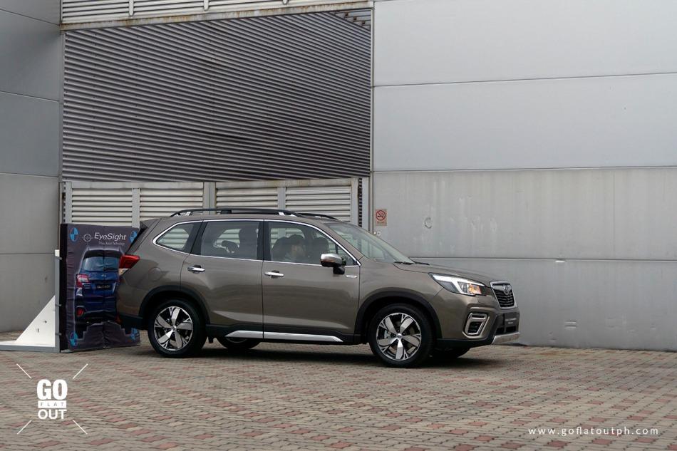 2020 Subaru Forester Rear Automatic Braking