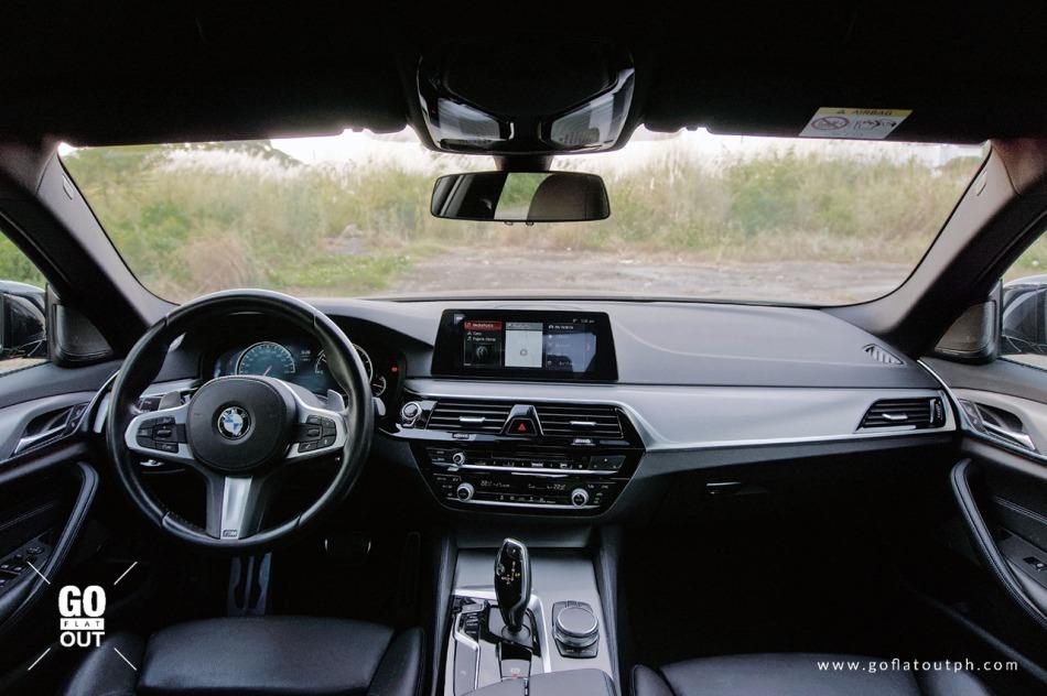2020 BMW 520d M Sport Interior