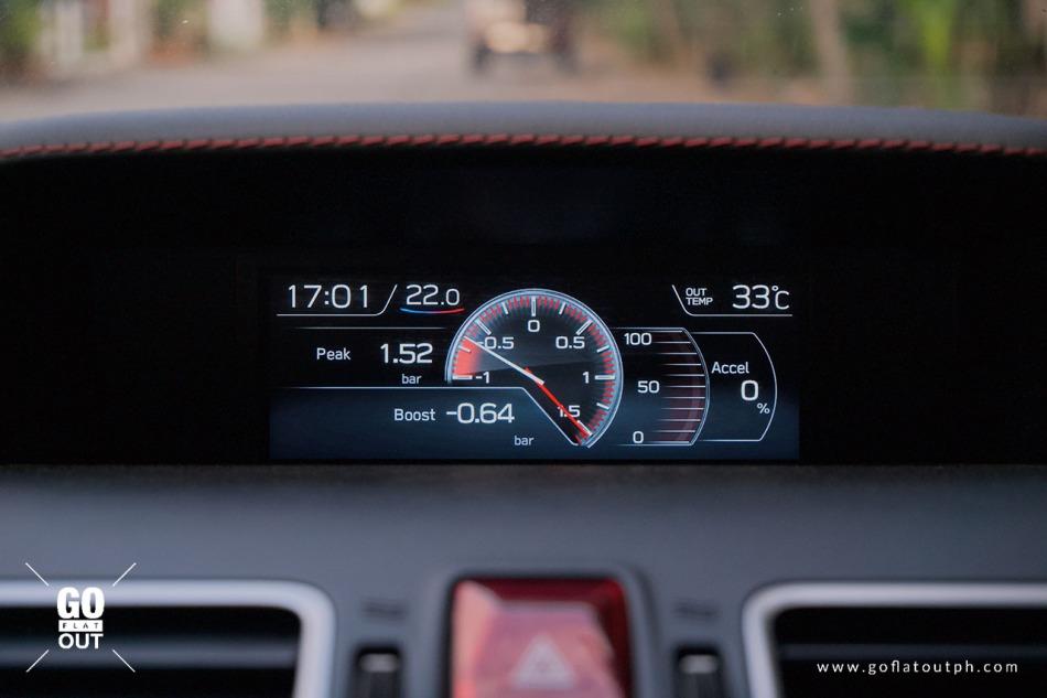 2020 Subaru WRX MT Multi-Info Display