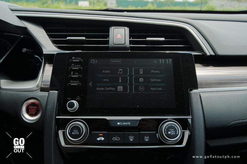 2020 Honda Civic 1.8 E Infotainment