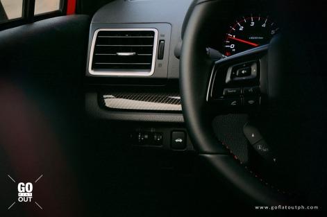 2020 Subaru WRX MT Interior