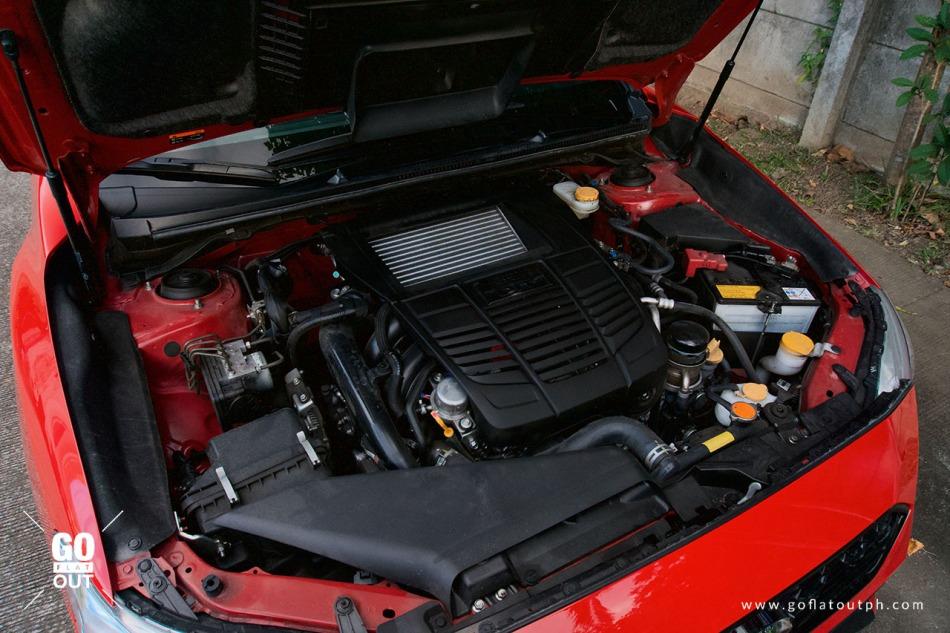2020 Subaru WRX MT Engine