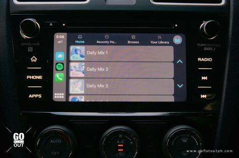 2020 Subaru WRX MT Infotainment