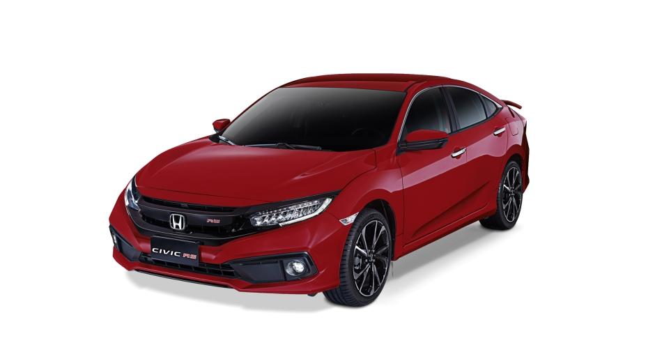 2020 Honda Civic RS Turbo Ignite Red Metallic